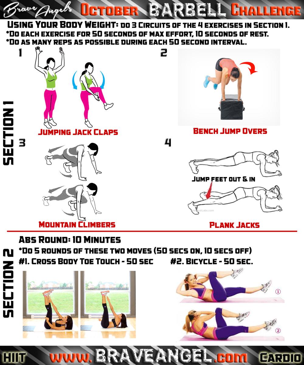 Cardio Workout - Week #2