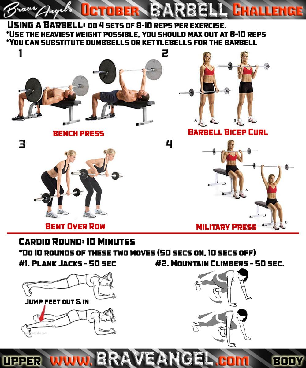 Upper Body Workout - Week #2