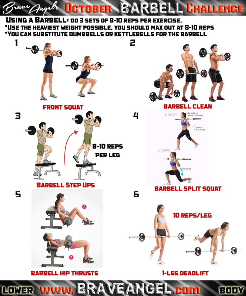 Lower Body Workout Routine