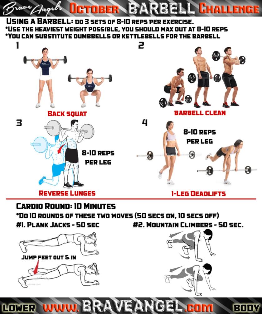 Lower Body Workout - Week #2