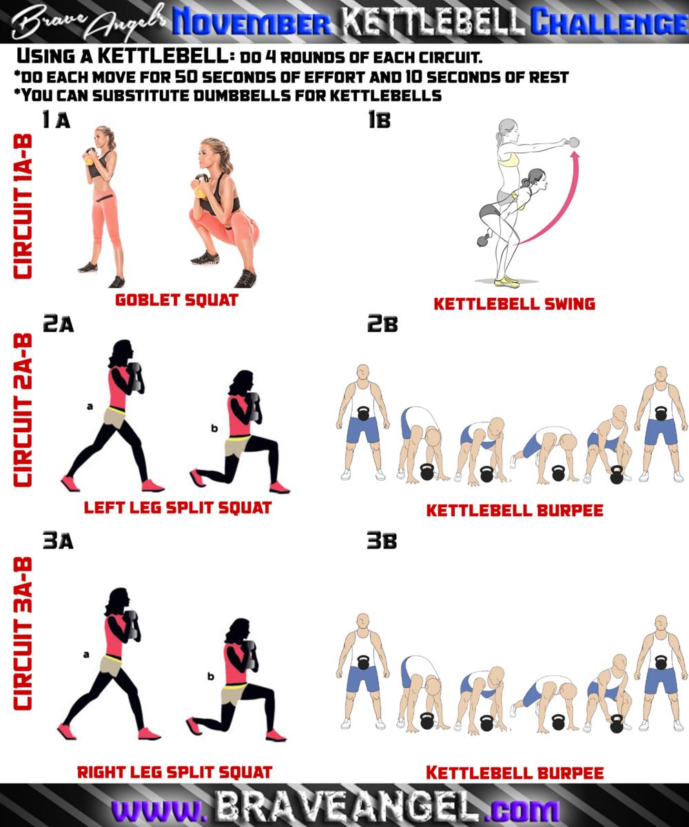 Kettlebell Lower Cardio Blast