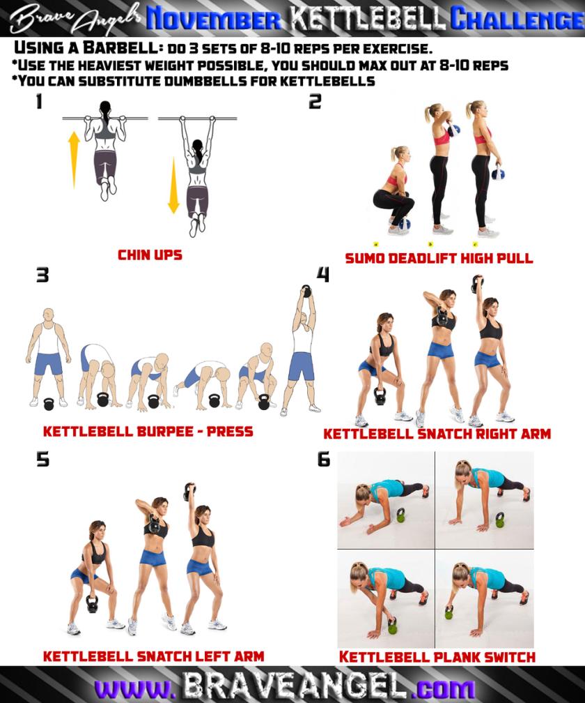 Kettlebell Full Body Workout