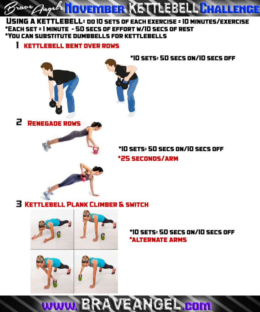 Kettlebell Upper Body Endurance