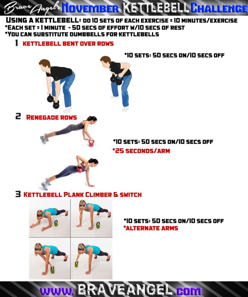 Kettlebell Upper Body Endurance