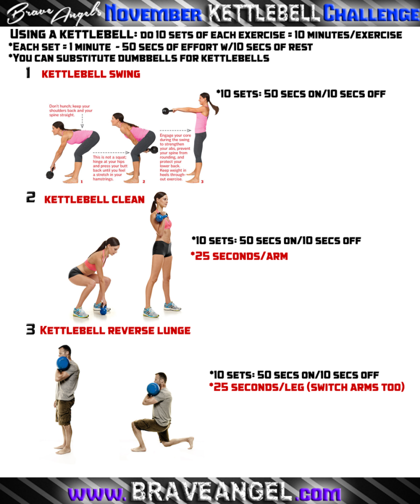 Kettlebell Lower Body Endurance